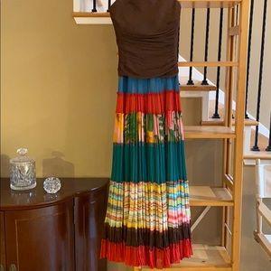 Beautiful dress very colorful